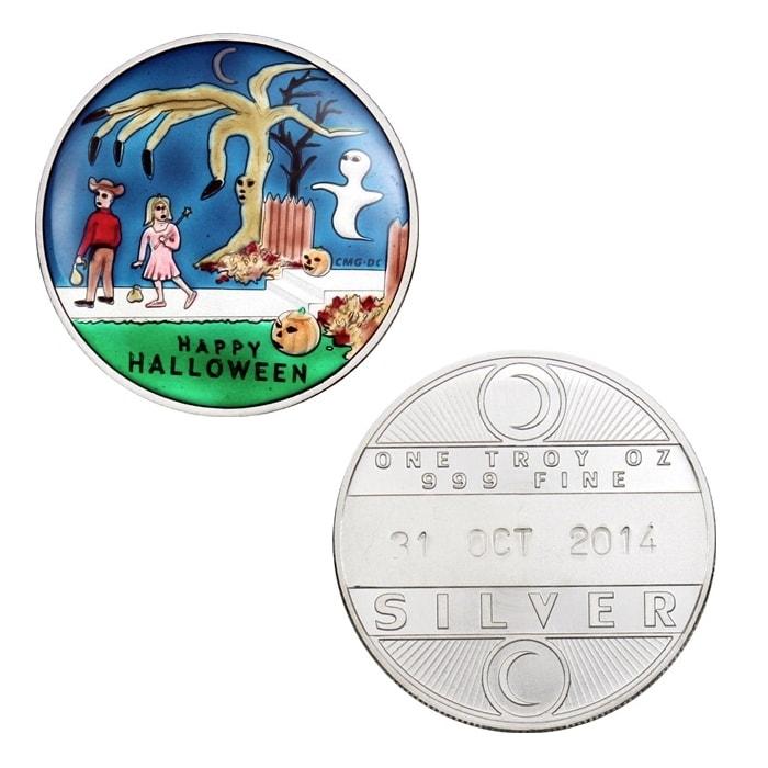 2014 Halloween Trick or Treat- Enameled